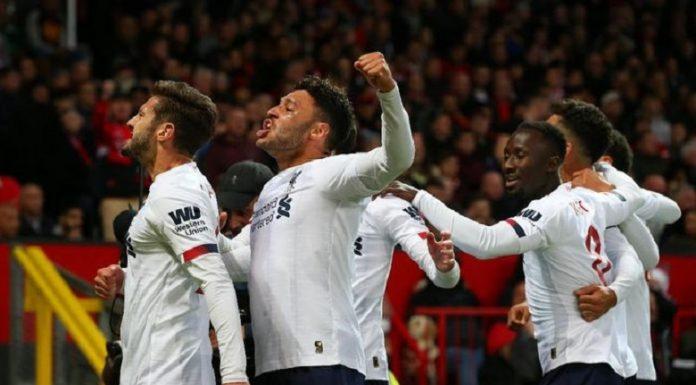 Liverpool Berimbang 1-1 Di Markas Manchester United.