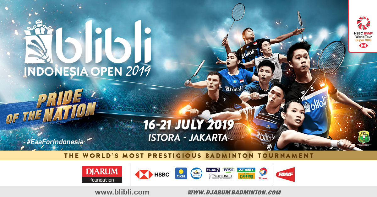 Photo of Bertaburkan Warna Dan Banyak Tempat-Tempat Menarik Pada Acara Indonesia Open 2019