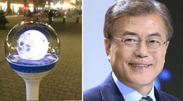 Photo of 6 Presiden Ini Terima Hadiah Unik, Moon Jae-in Dapat Lightstick Official ala Kpop