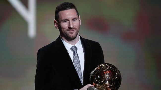 Photo of Messi, Manusia Pertama Raih Enam Ballon d'Or