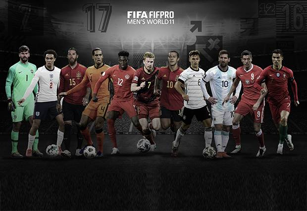 Liverpool dan Bayern Muenchen Mendominasi Tim Terbaik FIFA FIFPro 2020 - MamaBola