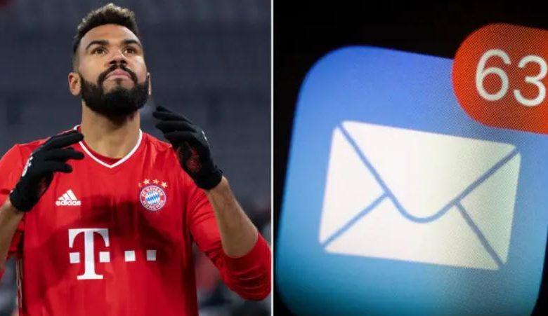 Striker Bayern Munich Tersingkir Dari Timnas Gara-gara Salah Kirim Email - MamaBola
