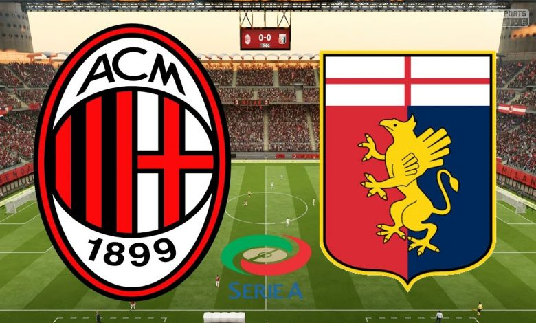 Mau Tonton Live Streaming AC Milan vs Genoa? Simak Di Sini - MamaBola