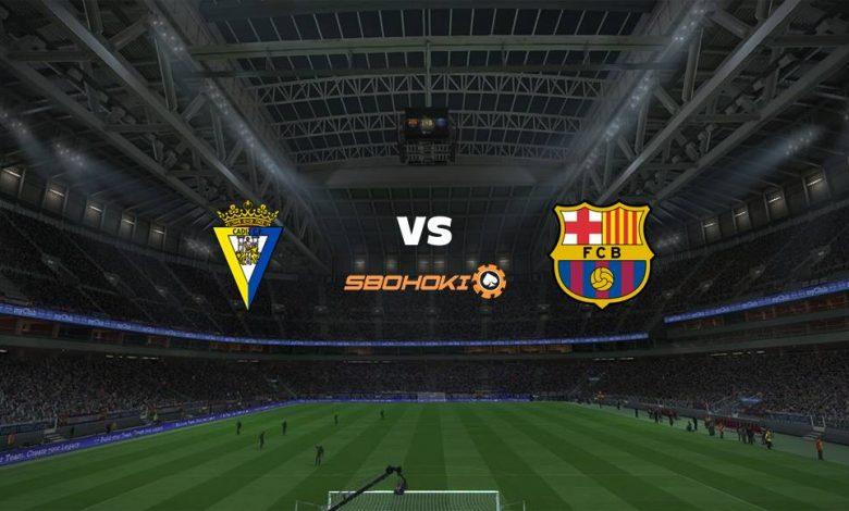 Live Streaming Cádiz vs Barcelona 23 September 2021 - MamaBola